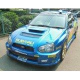 グリル一体型WRC'05フロントバンパー 【GD】【ないる屋】