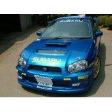 グリル一体型WRC'04フロントバンパー 【GD】【ないる屋】