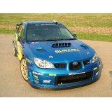 グリル一体型WRC'06フロントバンパー専用カーボンリップ 【GD】【ないる屋】