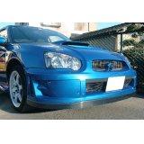 グリル一体型WRC'05フロントバンパー専用カーボンリップ 【GD】【ないる屋】