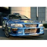 22B専用グリル一体型WRC'00フロントバンパー 【GC】【ないる屋】