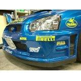 グリル一体型WRC'04フロントバンパー専用カーボンリップ 【GD】【ないる屋】
