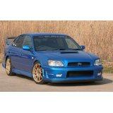 WRC'06フロントバンパー専用カーボンリップ 【BE/BH】 【ないる屋】
